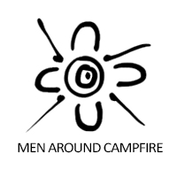 men-around-campfire
