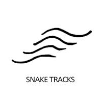 snake-tracks